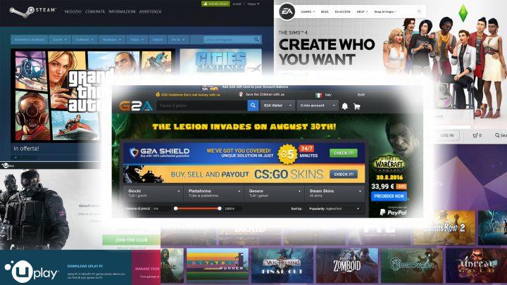 Mercato di Videogames header